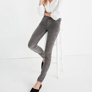 Madewell 10in rise Corduroy Edition